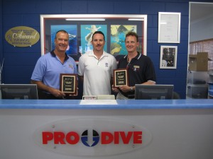 Prodive desk award